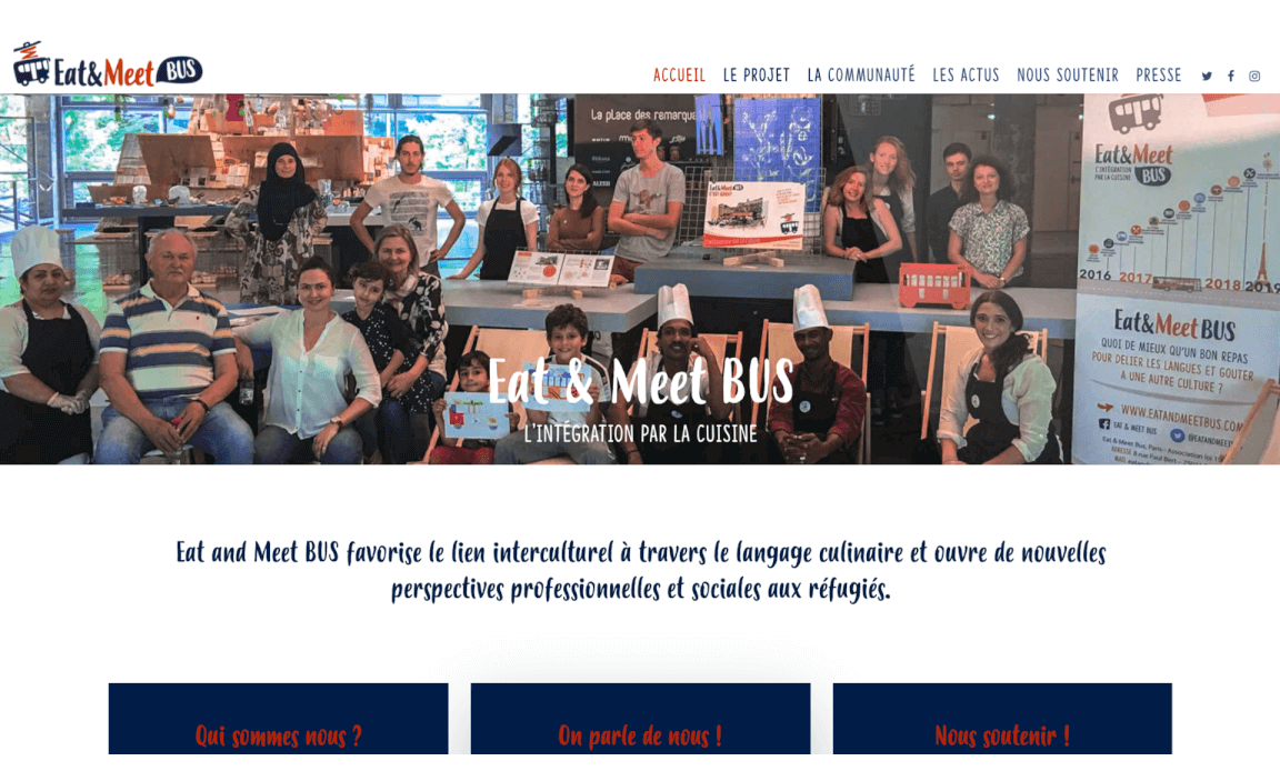 Eat and Meet bus